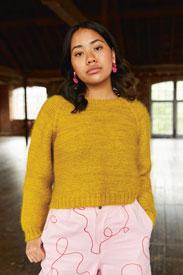 Madelinetosh Grainne Pullover Kit