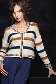Madelinetosh Higher Education Cardigan Kit