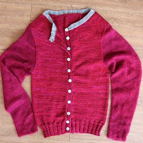 Madelinetosh Jennings Cardigan Kit