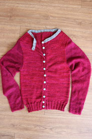 Madelinetosh Jennings Cardigan Kit