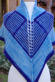 Madelinetosh Tosh Merino Light Bermuda Triangle Shawl Kit