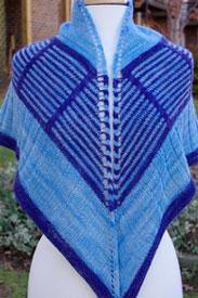 Madelinetosh Tosh Merino Light Bermuda Triangle Shawl Kit