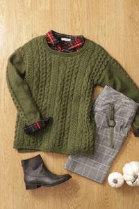 Madelinetosh Alder Pullover Kit