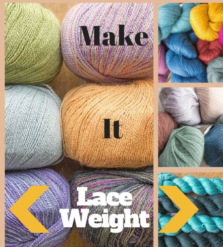 Make it Laceweight Event