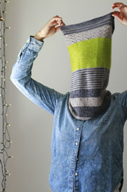 Marianated Yarns 3 Color Cashmere Cowl Kit