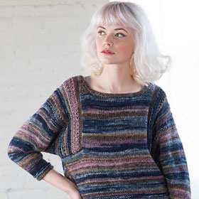Berroco Millefiori Marley Pullover Kit - Women's Pullovers