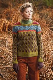 Rowan Alpaca Classic Marshwood Pullover Kit