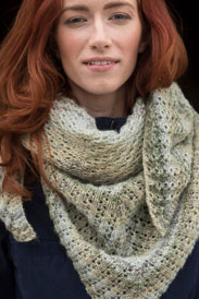 Berroco Pixel Miss Honey Shawl Kit