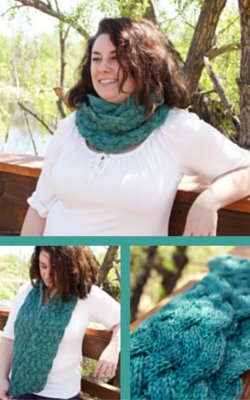 Moebius Braid Cowl