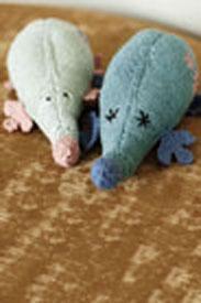 Rowan Baby Cashsoft Merino Morris & Myna Mole Kit