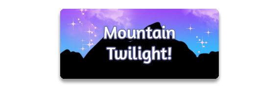 CTA: Mountain Twilight