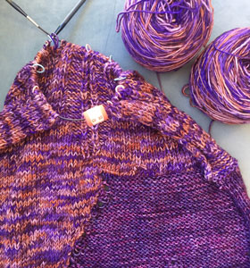 Madelinetosh Tosh Merino Light Nakia's Infinity Scarf Kit - Scarf and Shawls