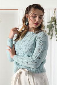 Neighborhood Fiber Co Gentle Rain Pullover Kit - Women's Pullovers