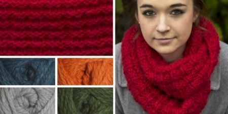 Kit of the month: Ruby My Dear cowl