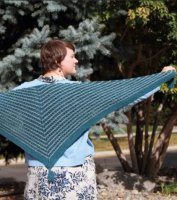Ohana Shawl Long View