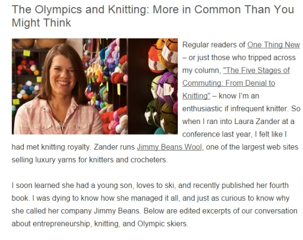 OlympicsAndKnitting