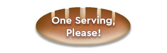 CTA: One Serving, Please!
