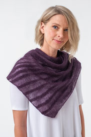 Shibui Knits Ossa Shawl Kit