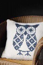 Rowan Hemp Tweed Oswald Owl Pillow Kit