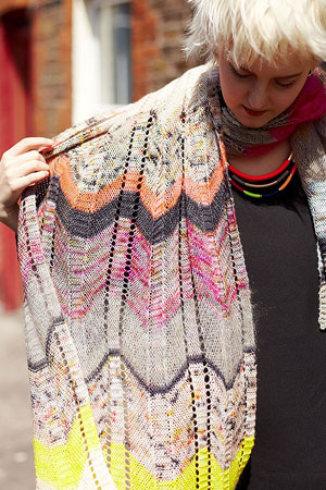 Outline Shawl Free Pattern