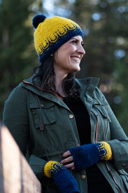 PassionKnits Sunnyside Hat & Mitts Kit