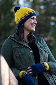 PassionKnits Sunnyside Hat & Mitts Kit