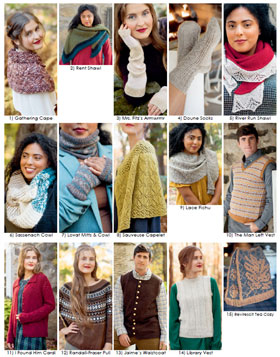 Trendsetter Pattern Books Outlander Knitting