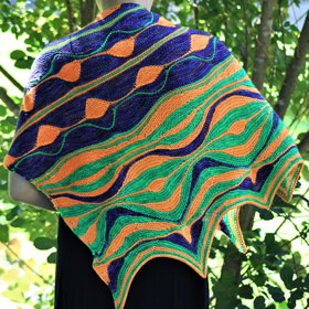 Positive Vibrations Shawl Kit