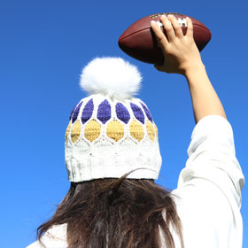 Jimmy Beans Wool Blitz Beanie Football Hat kits Minnesota