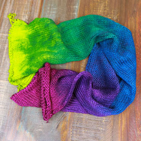 Huckleberry Knits Double-Stranded Gradient Sock Blank yarn Practical Tactical Brilliance