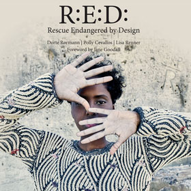 Cashmere Company R:E:D Rescue Endangered by Design R:E:D