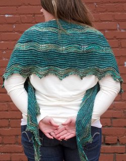 Rachel's Ripple Effect Shawl