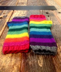 Rainbowtastic Mitts