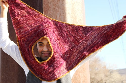 Quite a Common Thief Shawl