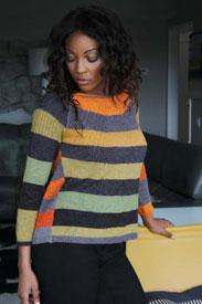 Trendsetter Ribbed Raglan Pullover Kit
