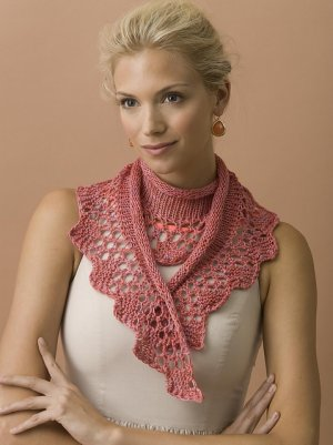 TSCArtyarns Empress Rose Garden Scarf