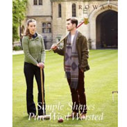 Rowan Pattern Books Simple Shapes Pure Wool Worsted