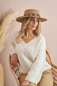 Rowan V Neck Sweater Kit