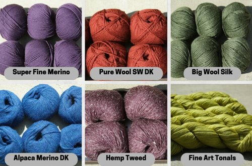 New Rowan yarns for fall 2015