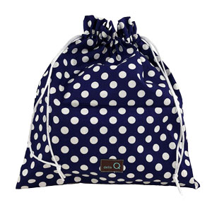 della Q Eden Cotton Project Bag (115-2) Royal