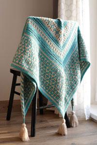 Scheepjes Amaya Mosaic Shawl Kit