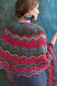 Noro Kureyon Seashell Ripple Shawl Kit