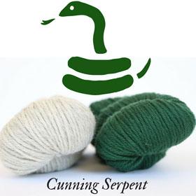 Cunning Serpent Wizard Scarf