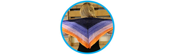 Marie's Shadow Shawl