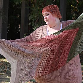 Shawl Club - Brittany Colorway - Knit