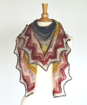 Madelinetosh 2019 Tosh Shawl KAL: Sunshower Shawl kits *Monthly* Auto-Renew Subscription - Designer's Choice