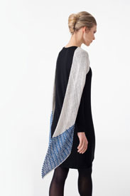 Shibui Knits Reed Delft Scarf - Solid Kit