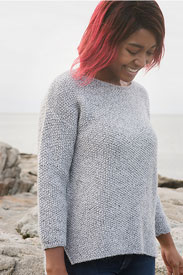 Lana Grossa Silkhair yarn 12 Seal Grey