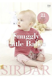 Sirdar Pattern Books 516 Snuggly Little Babes
