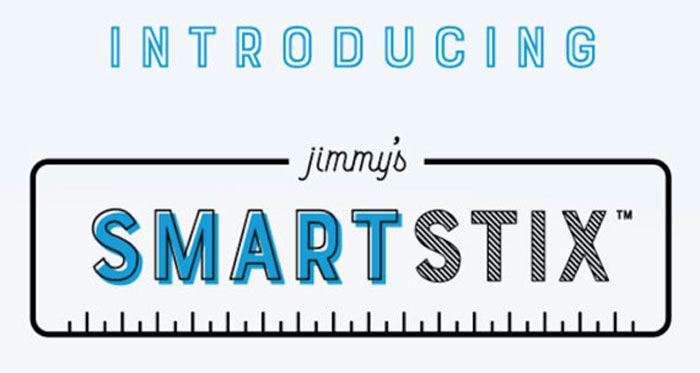 Introducing Jimmy's SmartStix!